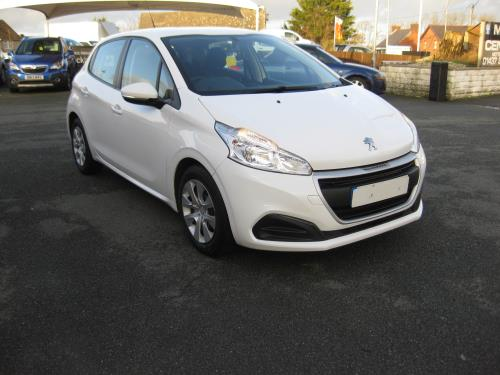 Peugeot 208 HDI  ACCESS BLUE for sale at Mike Howlin Motor Sales Pembrokeshire