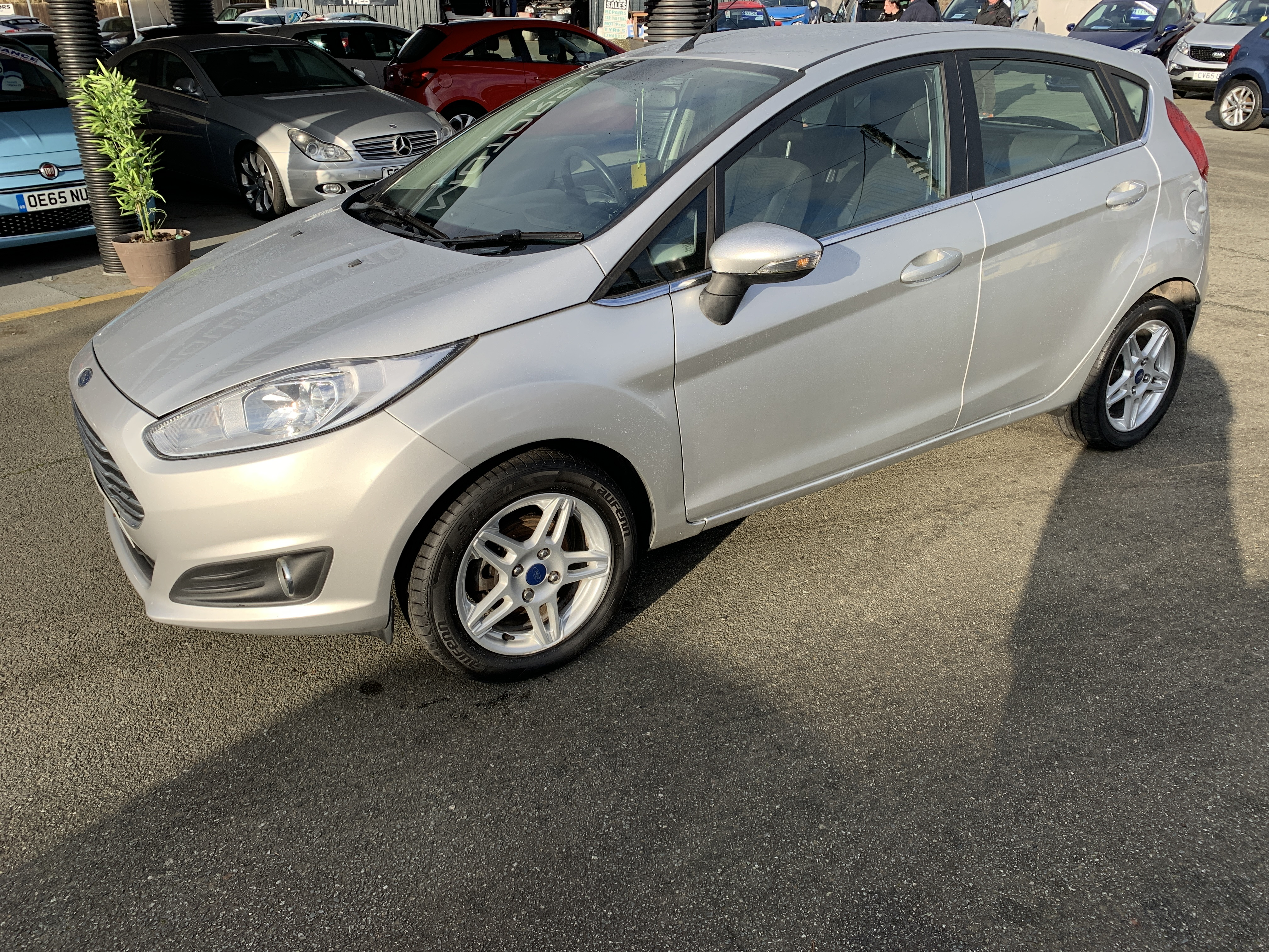 Ford FIESTA ZETEC  for sale at Mike Howlin Motor Sales Pembrokeshire