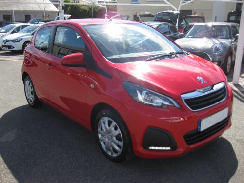 Peugeot 108 ACTIVE for sale at Mike Howlin Motor Sales Pembrokeshire