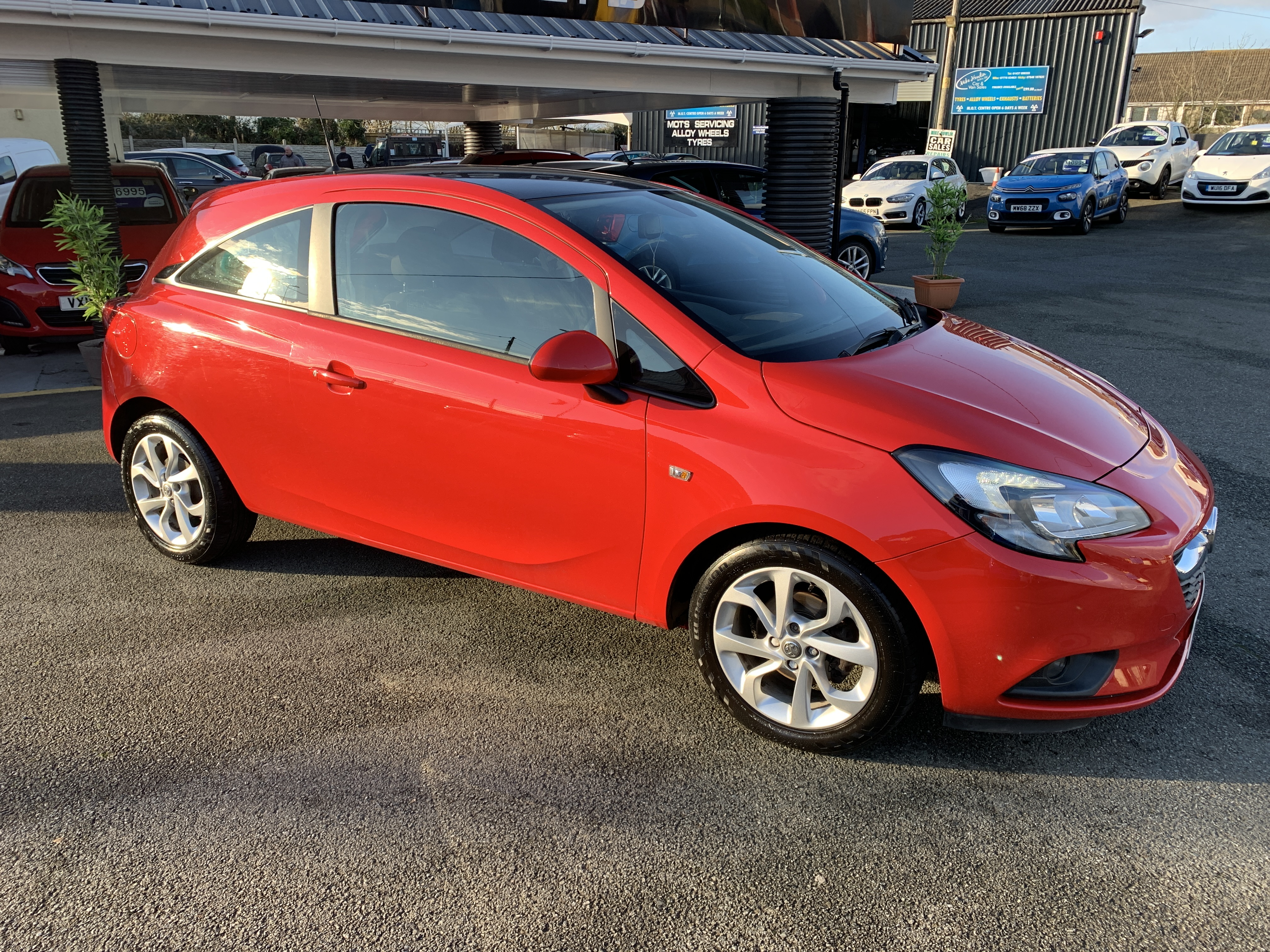 Vauxhall CORSA EXCITE AC ECOFLEX for sale at Mike Howlin Motor Sales Pembrokeshire