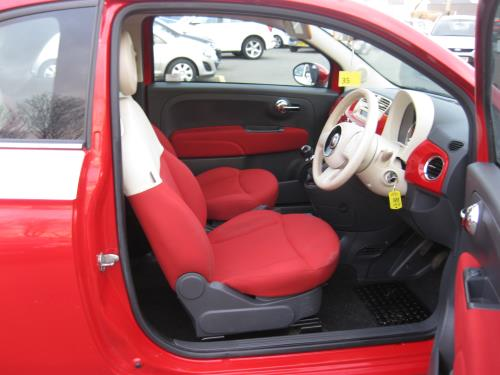 Fiat 500 LOUNGE for sale at Mike Howlin Motor Sales Pembrokeshire
