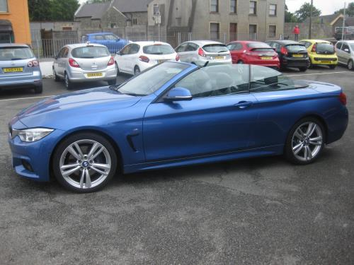 BMW 420 D TURBO DIESEL for sale at Mike Howlin Motor Sales Pembrokeshire