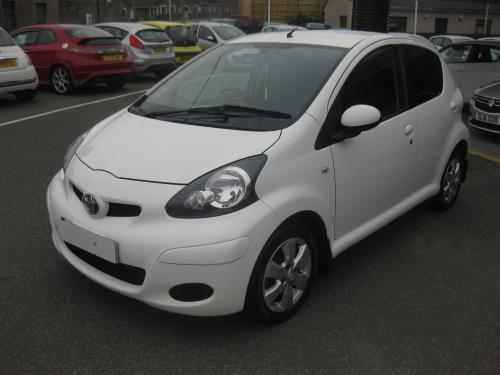 Toyota AYGO for sale at Mike Howlin Motor Sales Pembrokeshire